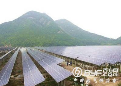 宁波象山县首座海岛渔光互补光伏电站并网发电