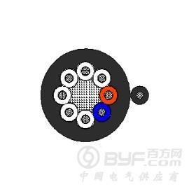 环保电缆-远东牌电动葫芦用高柔性异型橡胶软电缆