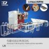 供应领新聚氨酯包裹式密封条浇注机 生产流水线