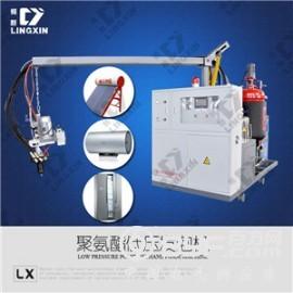 供应领新聚氨酯pu空调保温板填充发泡机械设备