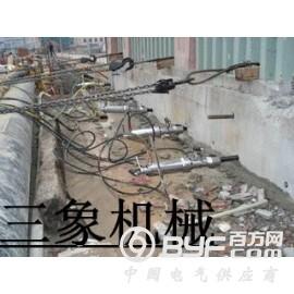 湖南楼层房屋钢筋混凝土拆除设备液压混凝土分裂机