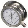 径向带边耐震不锈钢压力表