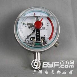 不锈钢耐震电接点压力表型号规格,量程,精度