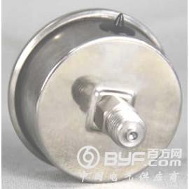 轴向不锈钢压力表型号规格,量程,精度