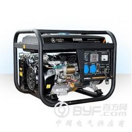 农用萨登小型便携式家用6KW汽油发电机