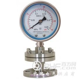 耐震不锈钢隔膜压力表规格,耐震不锈钢隔膜压力表厂家
