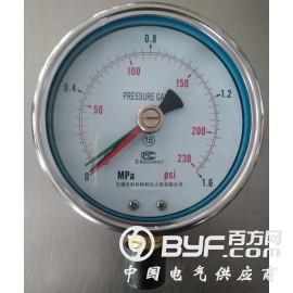 定位压力表,三针压力表,三针定位压力表规格