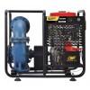 6寸HANSI厂家柴油机混流泵 铸铁材质