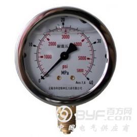 不锈钢壳耐震压力表
