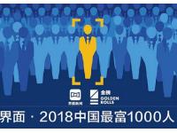 2018中国最富1000人:马化腾许家印夫妇马云位列前三