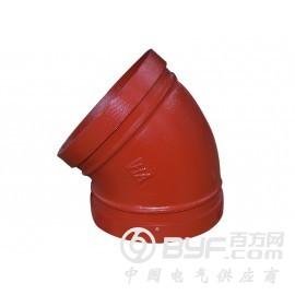 鸿安消防供应专业的沟槽管件-山东沟槽管件厂家