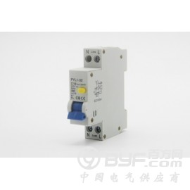漏电断路器10A16A202532A漏电过载短路一体1P一位