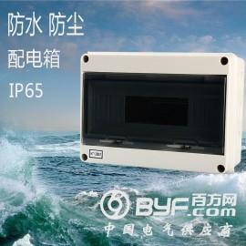 HT-12回路户外防水配电箱塑料明装强电箱防雨布线箱IP65