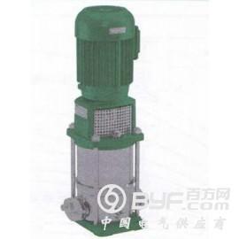 威乐水泵不锈钢立式多级水泵