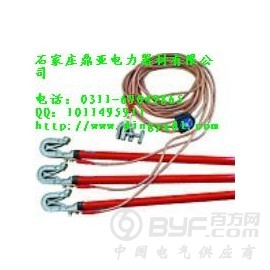 电工成套高压接地线生产-深圳10kv便携式高压接地线批发