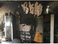 延安一市民新家起火被烧 疑因共用变压器电压异常
