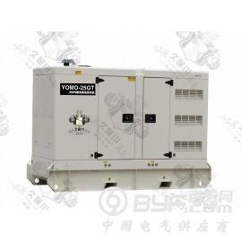 25kw静音柴油发电机供应商