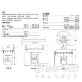 原装进口斯派莎克气动执行器PN9000系列