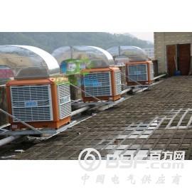 玉林注塑车间环保空调降温通风产品,每小时耗1度电