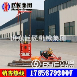 山东巨匠两相电轻便取样钻机QZ-1A地质勘探钻机巨实惠
