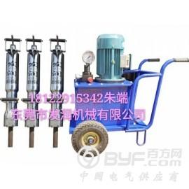 湘乡市免爆破采石场石材开采专用新设备岩石劈裂机