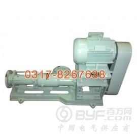 G型单螺杆泵专业供应商,单螺旋泵厂家