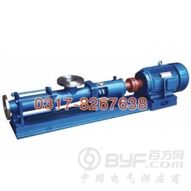沧州专业的G型单螺杆泵_厂家直销 广东G系列单螺杆泵厂家