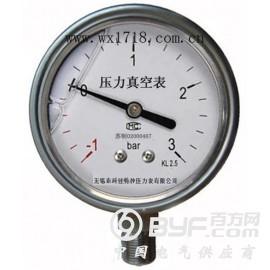 耐震壓力真空表YZN-40/50/60/75/100/150