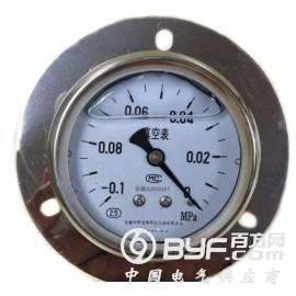 带边盘装(嵌装)耐震真空压力表