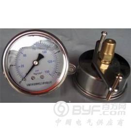 軸向U型卡箍耐震壓力表YN-50U/YN60U/YN75U