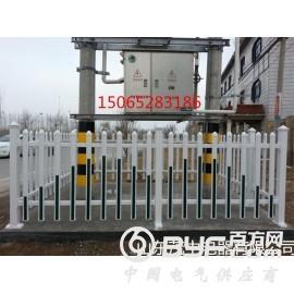 塑钢PVC电力箱变护栏 PVC变压器围栏厂家