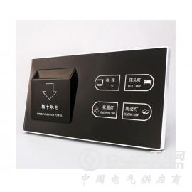 LN-BO 聯興邦 酒店賓館智能電子門牌房號牌 插卡取電開關