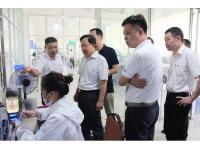郑州市高新区领导莅临江西人民输变电公司考察