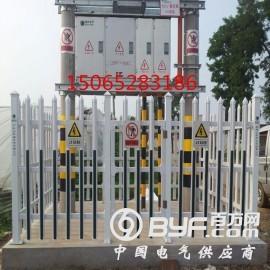 塑钢PVC箱变围栏变压器围栏配电室护栏厂家
