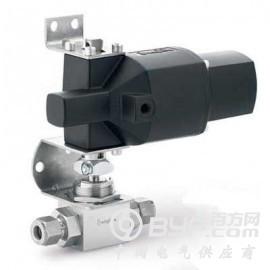 美国进口不锈钢3件式高压 替代燃料用球阀 常闭执行器