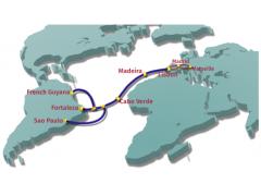 首条直连欧洲-拉丁美洲的海底光缆EllaLink开建