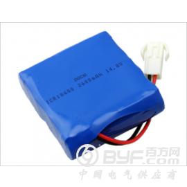 东莞正能量锂电池18650 2S2P  5.2AH 7.4V