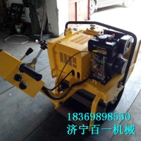 手扶式压路机 汽油单轮压路机价格