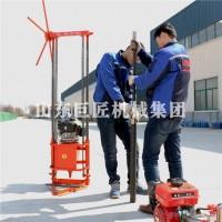 巨匠集团30米轻便取样钻机QZ-2C汽油机动力地质岩心钻机