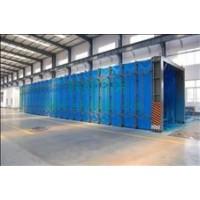 伸缩移动喷漆房供应商  山东伸缩移动喷漆房厂家