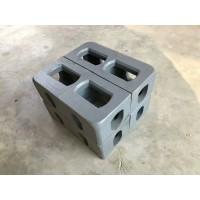 集装箱角件 特种集装箱固定角件 活动房角件河北集装箱配件厂家