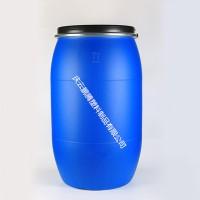 蓝色大口200L法兰桶200升开口塑料桶