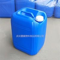 小口方形25升塑料桶加强筋25L塑料桶