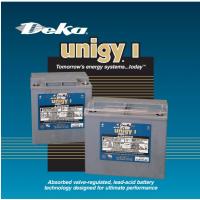 DEKA德克蓄电池UnigyI AVR系列2V系列规格