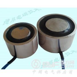 機械手取物移動吸盤電磁鐵/24V直流50KG吸力電磁吸盤