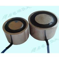 机械手取物移动吸盘电磁铁/24V直流50KG吸力电磁吸盘