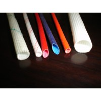 硅树脂玻璃纤维套管/玻璃纤维管/自熄管/高温套管