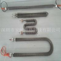 非标U型W方型翅片电加热管 干烧电热管散热片热风设备加热丝