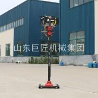 巨匠集团提供BXZ-2L便携式岩心钻机浅层取样背包钻机安全可