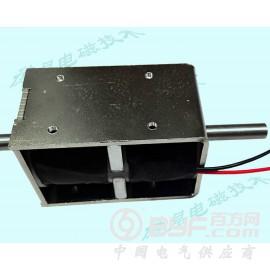 双边推拉式电磁铁DKD1879/磁保持电磁铁